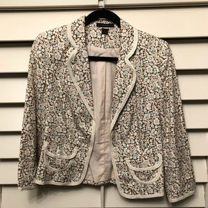 Jackets & Blazers - Express blazer with flower pattern